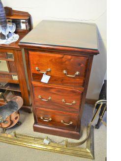 Mahogany filing cabinet