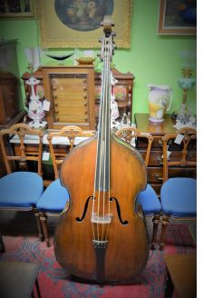 Vintage double bass