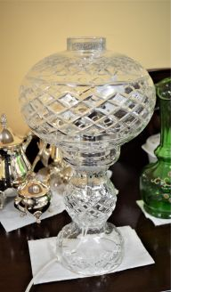 Tyrone crystal lamp