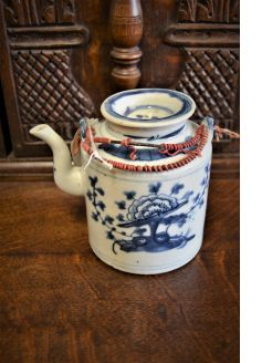 19th century chinese tea kettle