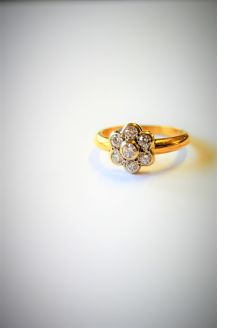 18ct gold & diamond ring