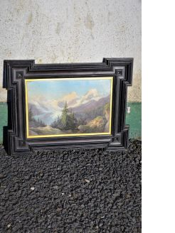 Framed oil painting (small)