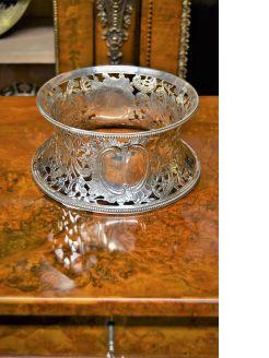 Silver dish ring
