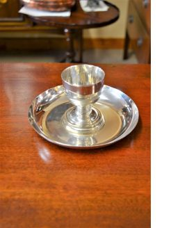 Dublin 925 sterling silver cup & stand