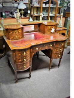 Edwardian rosewood desk
