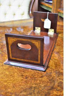 Edwardian mahogany book stand