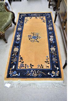Old wool rug