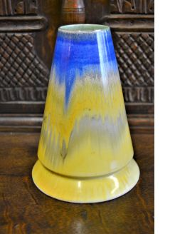 Shelly dripware vase