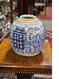 19th century chinese jar