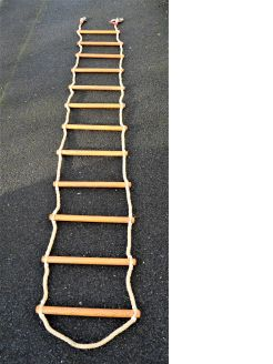 Old ships rope ladder
