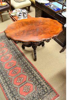 Mahogany centre table