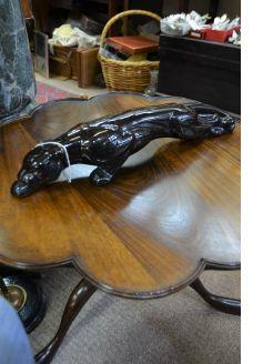 Black porcelain panther
