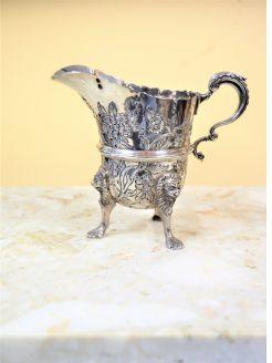 Irish silver jug