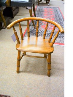 Oak childs chair
