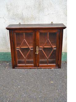 Mahogany hanging cabinet