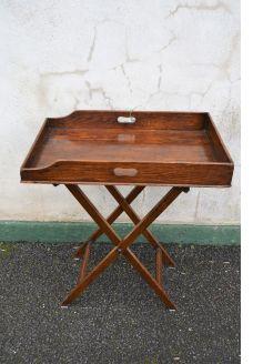 Victorian oak butlers tray
