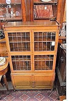 Oak (sectional style) bookcase