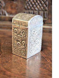Victorian silver card case/holder