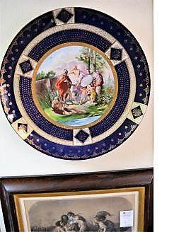 Vienna porcelain plaque