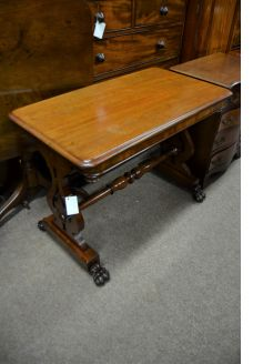 19th century mahogany side table