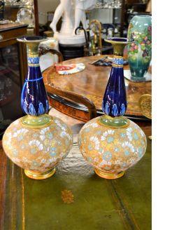 Pair of royal doulton vases