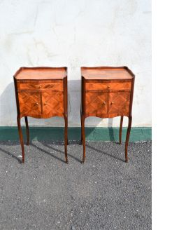 Pair of french pedestals