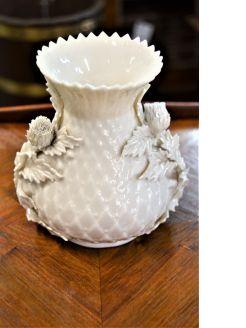 Second period belleek vase