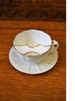 Moustache cup & saucer