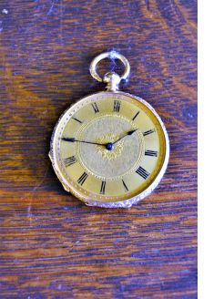 18ct gold pocket watch (not working)