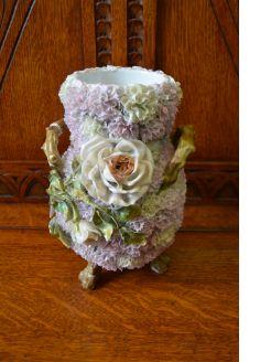 German porcelain vase