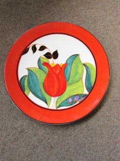 Wedgewood,clarice cliff plate