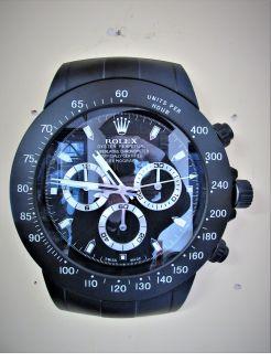 Rolex wall display clock