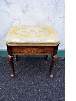 Edwardian rosewood stool