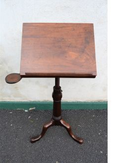 18th century mahogany reading stand