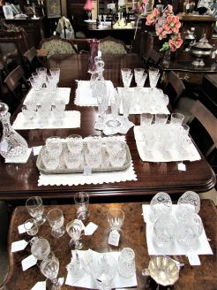 Large selection of tyrone & waterford glass available in store