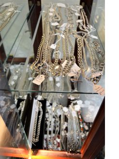 Large selection of silver chains and bracelets available