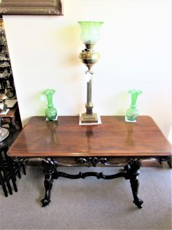 Victorian rosewood side table