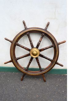 Old ships wheel