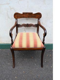 Regency mahogany armchair