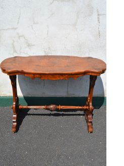 Victorian walnut table