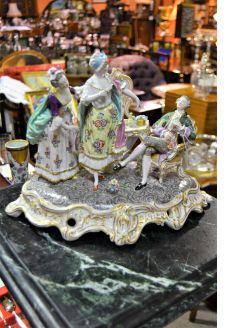 Naples porcelain figures