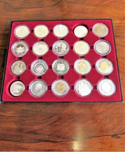 Selection of silver coins available