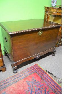 Irish style mahogany chest