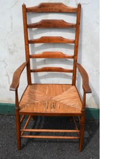 19th century ladder back chair