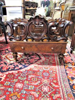 19th century rosewood canterbury