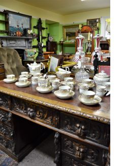 19th century 35 piece tea/coffee set