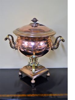19th century samovar