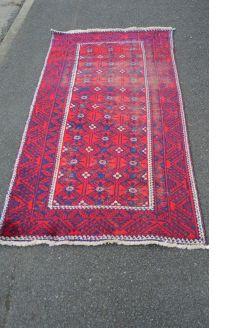 Old woolen rug
