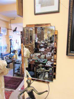 1930s/40s deco mirror