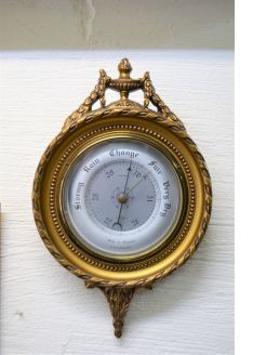 Gilt framed barometer
